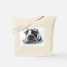 Great Dane Taped Merle Tote Bag
