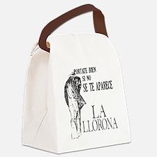 la_llorona_bien Canvas Lunch Bag