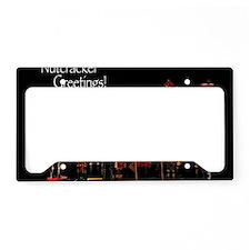 NutcrackerGreetings1 License Plate Holder