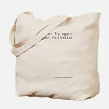 worstward book Tote Bag