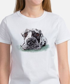 Great Dane Taped Merle Women's T-Shirt