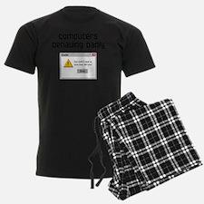 computers-behaving-badlyWHT-SH Pajamas