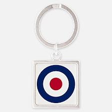 RAF Roundel Square Keychain