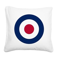 RAF Roundel Square Canvas Pillow
