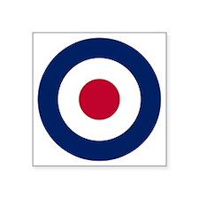 "RAF Roundel Square Sticker 3"" x 3"""