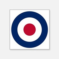 "RAF Roundel Square Sticker 3"" x 3"""