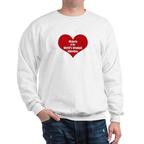 Greatest Valentine: Victoria Sweatshirt