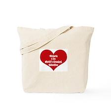 Greatest Valentine: Victoria Tote Bag