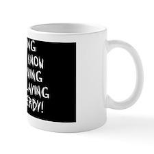 driving-oval-black Mug