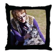sandraSallyJo Throw Pillow