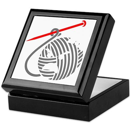 liv-blk-10in-nobg Keepsake Box