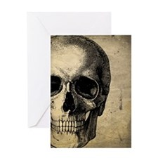 OldSkull_ipad Greeting Card