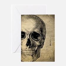 OldSkull_ipad Greeting Card