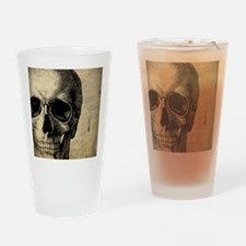 OldSkull_ipad Drinking Glass