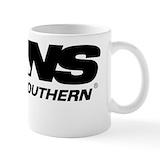 Norfolk southern Coffee Mugs