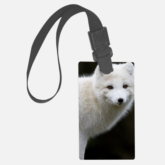 Artic Fox Luggage Tag