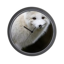 Artic Fox Wall Clock