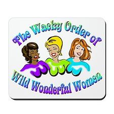 WoWWW logo Mousepad