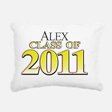 Alex 2011 Rectangular Canvas Pillow
