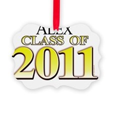 Alex 2011 Ornament