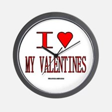The Valentine's Day 19 Shop Wall Clock