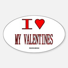 The Valentine's Day 19 Shop Oval Decal