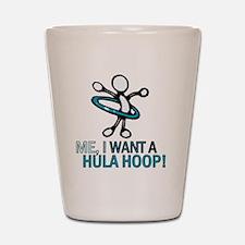 HulaHoop Shot Glass