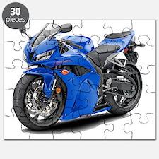 2010 CBR 600 Blue Bike Puzzle