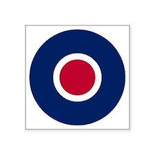 "RAF Roundel - Type C Square Sticker 3"" x 3"""