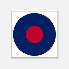 "RAF Roundel - Type B Square Sticker 3"" x 3"""