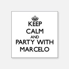 Keep Calm and Party with Marcelo Sticker