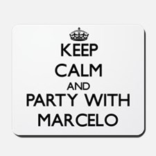 Keep Calm and Party with Marcelo Mousepad