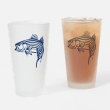 striper Drinking Glass