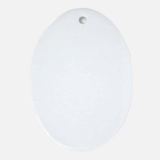 bb_new_white Oval Ornament