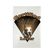 American Pit Bull Terrier Rectangle Magnet (10 pac