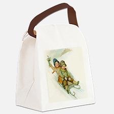 box_tile Canvas Lunch Bag