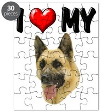 I Love My German Shepherd Puzzle