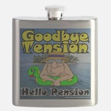 Goodbye Tension T-Shirt Flask