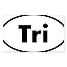 Tri Oval logo Decal