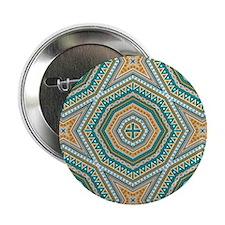 """kaleido art mixed stripes 2.25"""" Button (10 pack)"""