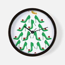 shoe-tree_dark Wall Clock