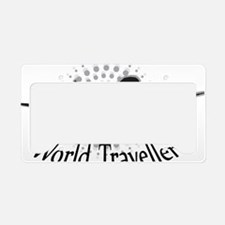 World Traveller License Plate Holder