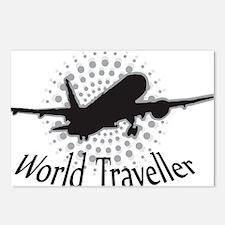 World Traveller Postcards (Package of 8)