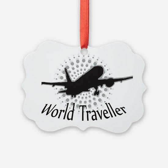 World Traveller Ornament