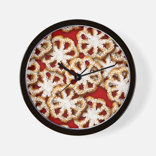 rosettes_sb Wall Clock