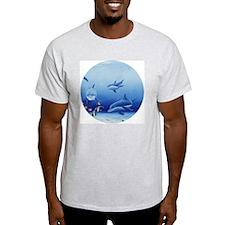 Three Dolphin Friends T-Shirt