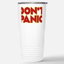 Dont Panic Stainless Steel Travel Mug