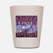 nutcdance sq Shot Glass