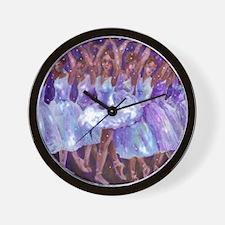 nutcdance sq Wall Clock