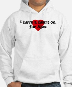 Heart on for Alex Hoodie